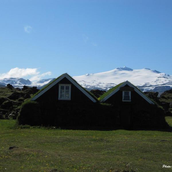 Snaefellsjökull, Volcan de Jules Verne