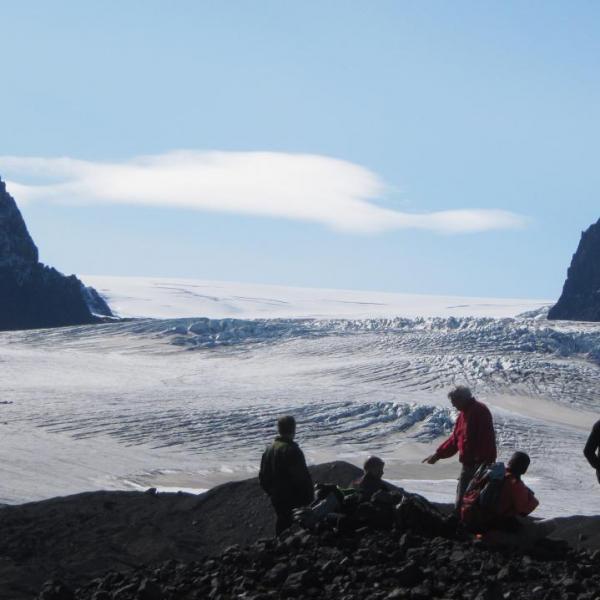 kverkfjoll, nord du Vatnajokull