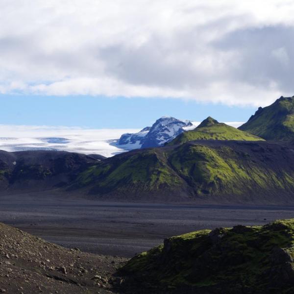 Myrdalsjokull, reserve de Fjallabak